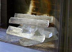 glass logs