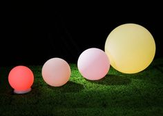 LED Waterproof Ball Lights: These floating obs would look awesome in a pool or fountain at your reception space or use them to create lighted pathways around your venue.