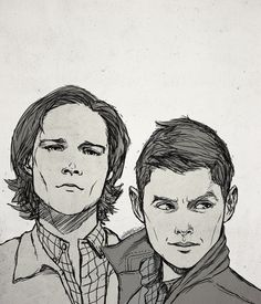 """Keeper & Reaper - """"I hate that I can't watch SPN tonight cause I live in Spain. Fanart helps :)"""""""