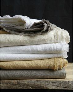 soft rumpled linens