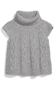 United Colors of Benetton Kids Cap Sleeve Turtleneck Sweater (Toddler) available at #Nordstrom
