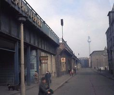 """In my parents and I visited East Berlin shortly after my birthday. The adventure was on a whim, but the experience was a """"life changer."""" If my memories of the city were not s… East Germany, Berlin Germany, Berlin Hauptstadt, History Of Germany, Dark House, S Bahn, Berlin Wall, Dream City, Cold War"""