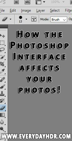 Learn how the interface color in Adobe Photoshop actually affects the outcome of your photos.