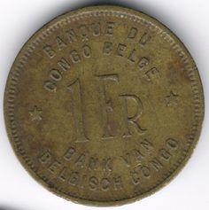 Belgian Congo 1 Franc 1949 op eBid België