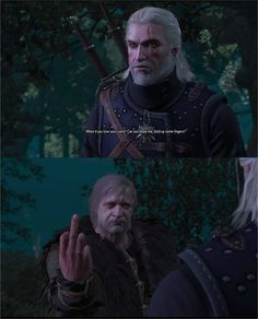 Just recently tried out the Witcher 3 for the first time. Probably my favorite moment so far...