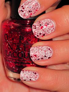 Gettin' Miss Piggy With It - 1 coat over Nicole by OPI- It's All About The Glam.