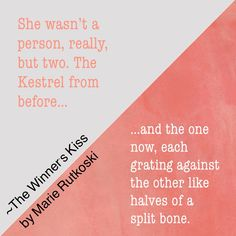 Another great #bookquote from #TheWinnersKiss by @marierutkoski!