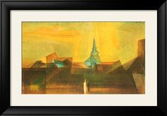 Nermsdorf Posters by Lyonel Feininger - AllPosters.co.uk