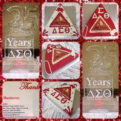Delta Sigma Theta Arlington Alumni Chapter 25th Anniversary Cakes!
