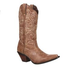NEW!! Crush by Durango Women's Scall-Upped Western Boot Tyle #DCRD177 Durango Boots Company