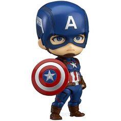 Marvel - Avengers Age Of Ultron - Captain America Nendoroid Figurine Action Marvel Avengers, Marvel Comics, Chibi Marvel, Avengers Cartoon, Marvel Cartoons, Marvel Heroes, Age Of Ultron, Anime Figures, Action Figures