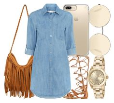 """""""Untitled #538"""" by foreverkaylah ❤ liked on Polyvore featuring Victoria Beckham, GUESS, Speck, Seafolly and Invicta"""