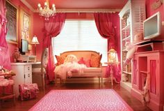 Pretty girls bedroom