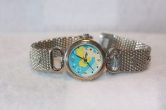 Vintage Walt Disney Tinkerbell Rhinestone Watch. Starting at $15