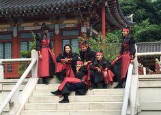 Hwarang cast ft. Taehyung