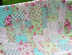 Rosey Lap Quilt Kit by Tanya Whelan for Free Spirit