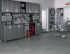 An organized garage is a happy garage