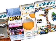 Revistas 47, 48, 49 e 50 da Confenar - Publicação bimestral direcionada para toda a rede de revendas associadas à Confederação.