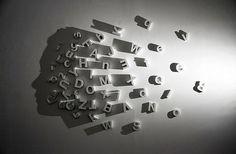 Une artiste utilise la lumière pour sculpter l'ombre et réaliser des créations…
