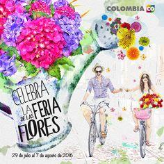 La ciudad de la Eterna Primavera se viste de gala. No te pierdas la #FeriaDeLasFlores2016 .