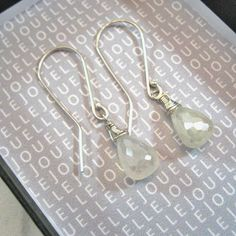 Beautiful handmade jewellery designed to wear and love by JouelleJewellery Moonstone Earrings, Drop Earrings, Bling, Trending Outfits, Unique Jewelry, Handmade Gifts, Image, Kid Craft Gifts, Jewel