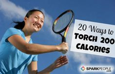 See how fun (and easy) it can be to burn calories! | via @SparkPeople #fitness #exercise