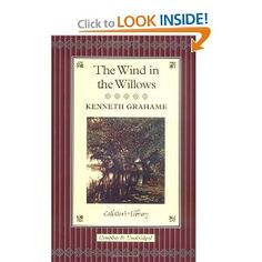 The Wind in the Willows by Kenneth Grahame.beautifully written and simply charming Kids Chapter Books, Books To Read, My Books, Kenneth Grahame, Childrens Books, Writing, My Love, Reading, Boys