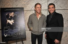 Actors Ryan Gosling and Jake Gyllenhaal attend the Blue Valentine screening at CAA on December 2, 2010 in Los Angeles, California.