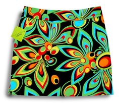 Shagadelic golf skirt -stylin' on the green - from Loudmouth Golf