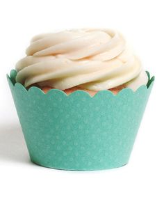 Love this Tiffany Blue Cupcake Wrapper - Set of 24 on #zulily! #zulilyfinds