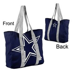 Dallas Cowboys Big Logo Tote Bag | Bags | Accessories | Womens | Cowboys Catalog | ShopCowboys