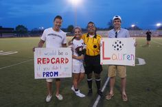 Promposal for a Soccer girl