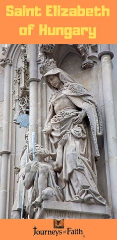 Saint Elizabeth of Hungary Saint Elizabeth Of Hungary, Saint Philomena, Sisters Of Mercy, Losing A Child, Precious Children, Great Women, Love Her, Saints, Royalty