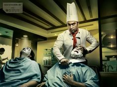 #recruitment wrongjob barber creative job ad