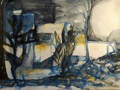 Watercolor by Nina Henriksson Kaikkonen