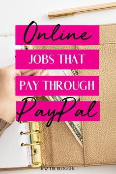 There is no denying the fact that PayPal is the best and most secure payment method available throughout the globe. It makes sending and receiving payments effortless and reliable. #onlinejob #paypal #passiveincome #makemoneyfromhome #personalfinance #debtfreelife #makemoney Legit Work From Home, Online Work From Home, Work From Home Jobs, Make Quick Money, Make Money From Home, Make Money Online, Online Jobs For Moms, Legit Online Jobs, Creating Passive Income