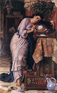 Isabella and the Pot of Basil, William Holman Hunt