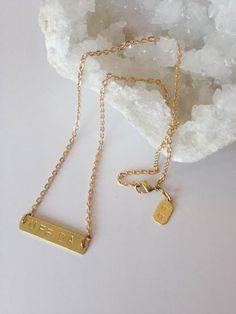 UFF DA Necklace (Brass)
