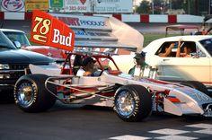 Super modified race car