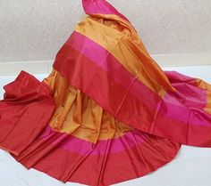 Saree fabric dupian silk cotton blouse running