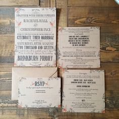 Urgh look at the weather today!!! I designed these lovely kraft pieces for my wedding 2yrs ago and they've been very popular a bit of summery modern vintage! #wedding #weddingstationery #rusticwedding #rustic #weddinginvitations #invites #kraftcard #flowers by gray.starling.designs