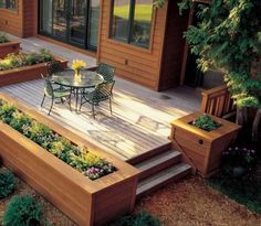 Deck Flower Bo Designs Planter Box Planters Ideas