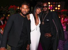 Naomi Campbell surrounded by her exes as she turned 46   Super model Naomi Campbell famously dated Diddy in 2002 and briefly dated Usher in 2004 and both men were there to celebrate her as she turned 46 years old over the weekend. She had a private dinner at PHD Rooftop Lounge on Sunday...  When she dated both men...