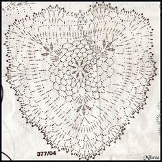 Coeur au crochet - Les jolies créa de Miluva