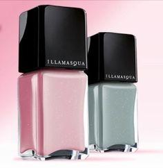 Illamasqua Raindrops in Original and Pink