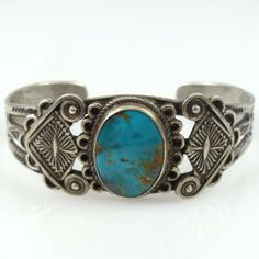 1940s Fred Harvey Cuff by Vintage Collection - Garland's Indian Jewelry