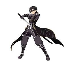 Kirito from SAO Code Register