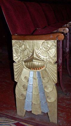 Art Deco design - Cinema chairs