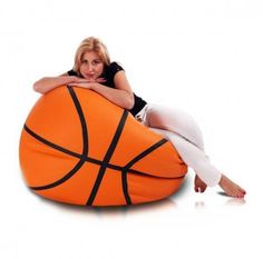 How cool a basketball beanbag chair. – Sport is lifre Boys Basketball Room, Basketball Birthday, Basketball Gifts, Basketball Quotes, Basketball Drills, Basketball Boyfriend, Basketball Cookies, Basketball Necklace, Sons