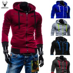 2015 Autumn Cardigan Men Hoodies Jacket Brand Clothing Fashion Hoodies Man Casual Slim Hoody Sweatshirt Sportswear Zipper Hoodie-in Hoodies & Sweatshirts from Men's Clothing & Accessories on Aliexpress.com | Alibaba Group